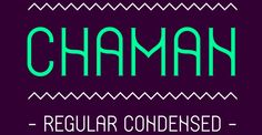 Chaman Tipografía ( beta ) on Typography Served. #typography #design #Chaman  The curves in an otherwise straightforward typeface is what attracted me to this. It gives it just a little quirkiness!