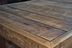 Reclaimed Wood Coffee Table by KreateHome on Etsy, $135.00