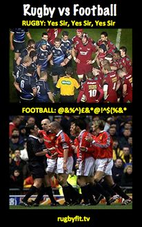 Rugby vs Football