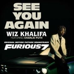"""Charlie Puth: See You Again The music video for """"See You Again"""" by Wiz Khalifa and Charlie Puth, featured during the… Wiz Khalifa, Charlie Puth, Free Piano Sheets, Piano Sheet Music, Karaoke Songs, Pop Songs, John Legend, When I See You, Told You So"""