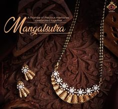 Gold Mangalsutra Designs, Gold Earrings Designs, Gold Jewellery Design, Necklace Designs, Gold Jhumka Earrings, Yellow Jewelry, Bollywood Jewelry, Yellow Decorations