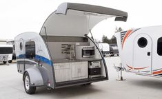We are the only major door manufacturer with no minimum order. Located in Nappanee IN. Best Travel Trailers, Camper Trailers, Campers, Building A Teardrop Trailer, Van Camping, Sprinter Van, Glamping, Offroad, Recreational Vehicles