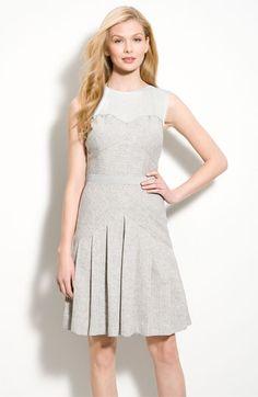 Jessica Simpson Faux Two-Piece Herringbone Dress | Nordstrom - StyleSays