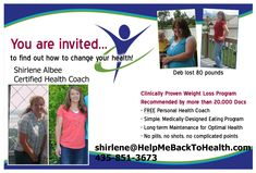 Excellent program from HelpMeBackToHealth.Com! Weight Loss with FREE HEALTH COACH! #fitness #weightloss