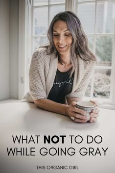 Taking a look back over the past 3 years and sharing some of the pitfalls that trip people up when going gray. Here's what NOT to do during your growout. #goinggraygracefully #saltandpepperhair #grayhairgrowout