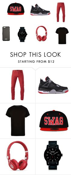 """""""natalia"""" by layceemawazo on Polyvore featuring 3x1, NIKE, River Island, Beats by Dr. Dre, Nixon, Givenchy, men's fashion and menswear"""