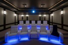 9 Smart Ways to Light Your Home Theater