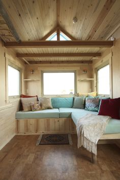 The Simblissity Judy Blue Eyes Is One Of Latest Aspen Design Tiny Homes On Wheels Built By In Lyons Colorado