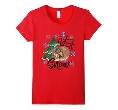 Let It Snow Comfy Christmas T-Shirt! Bear Dreaming of Snow Comfy, Snow, Bear, Mens Tops, Christmas, T Shirt, Stuff To Buy, Fashion, Xmas