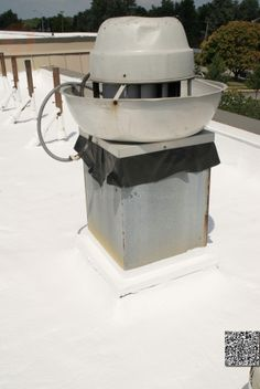 Elastomeric, Foam & Membrane White Roof Products and Installation Photos
