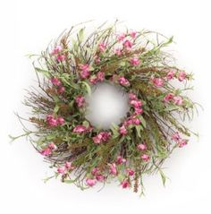 Spring Floral Sweet Pea & Heather Wreath – Why Whine? When you can shop online! Sweet Pea Flowers, Faux Flowers, Pink Wreath, Floral Wreath, Grapevine Wreath, Burlap Wreath, Door Wreaths, Easter Wreaths, Christmas Wreaths