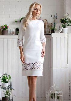 Cute fashion outfits ideas – Fashion, Home decorating Dress Skirt, Lace Dress, Dress Up, White Dress, Pretty Dresses, Beautiful Dresses, Casual Dresses, Fashion Dresses, Mode Outfits