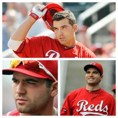 Joey Votto ooooh gawwwwd. :) 4:10 can't get here fast enough! #OpeningDay #GoRedlegs #RedsNation