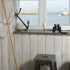 La Maison sur le Quai, face mer en Normandie - Marie Claire Maison