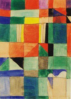 Paul Klee (1879-1940) was een Duits-Zwitserse kunstschilder. In 1920 werd Klee benoemd tot docent aan het Bauhaus in Weimar. Daarmee kreeg hij een gegarandeerd inkomen. Hij bleef echter vaak weg van zijn werk en werd daarvoor op zijn vingers getikt, waar hij zich vrij weinig van aantrok. In april 1931 eindigde zijn contract als docent aan het Bauhaus en werd hij benoemd aan de Kunstacademie van Düsseldorf.