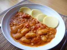 Fazolová omáčka Bastilla, Chana Masala, Chutney, Chili, Salsa, Soup, Ethnic Recipes, Fitness, Chile