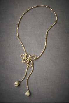 Gorgeous pearl necklace by Debra Moreland