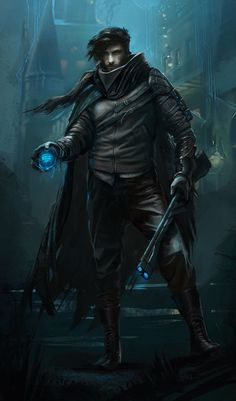 ArtStation - Rogue Character Concept, Gabriel Yeganyan