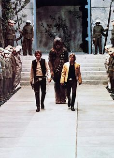 Star Wars Throne Room Sequence, ANH. My niece and I both thought this was a wedding the first time we saw it!!