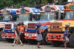 Guatemala - Buses