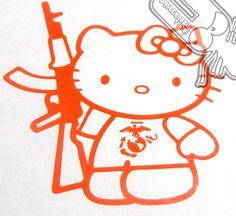 Hello Kitty & AK47