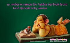 Let's have a look on the 12 famous modern #baby #names based on the name of Lord #Ganesha -http://bit.ly/28OLlDr