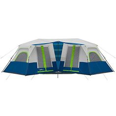 Camp Valley 10 Person 2 Minute Instant 2Room Cabin Tent -- Continue to the product at the image link.