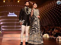 One of the most applauded pieces of the night!  #umarsayeed #couture #monochrome #love #fashion #bcw