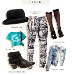 90s fashion board... lol the full jean jacket & pants outfit! lol