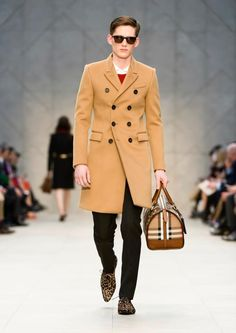Burberry chesterfield coat