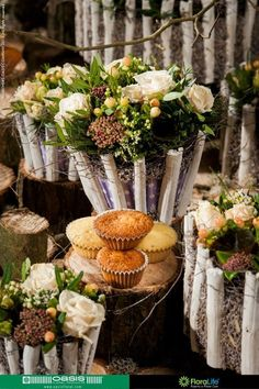 Scholenwedstrijd: Gedekte Tafel Creatie van een magische koffietafel met OASIS® Floral Cupcakes B-DECOoh! 2013