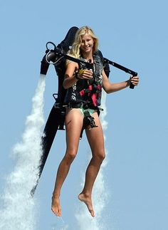 Fly into the future with Cabo Jet Packs, a hot new activity option showcased at the 4th Annual Cabo Marine Show.
