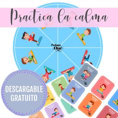 Trabajamos impulsividad, ansiedad, bajamos los niveles de estrés??? Pues lo podéis conseguir con esta super actividad de nuestra profe @pedagoque que no puede ser más bonita! Una ruleta con diferentes posturas de yoga, tarjetas y banderines con preguntas, una forma muy divertida para iniciar a los peques en algo tan serio como el autoconocimiento, la regulación emocional y la gestión de las emociones, lista para imprimir en el blog! Yoga Movement, Yoga For Kids, School Counseling, Conte, Learning Spanish, Teaching Tools, Kids Education, Preschool, Mindfulness