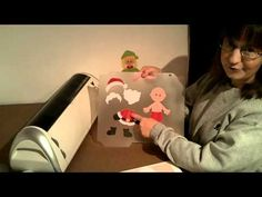 video about making paper dolls that you can stick on the wall