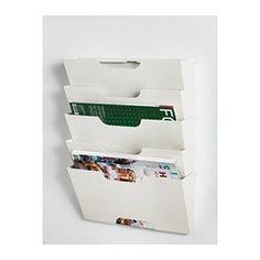 Wall magazine/file rack - IKEA $14.99