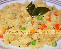 vegetarian kid friendly recipe