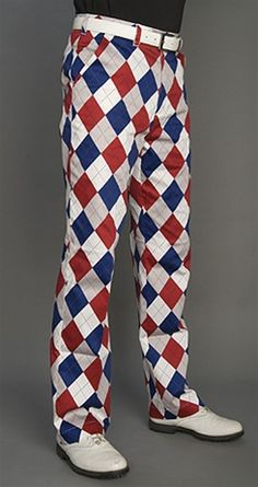 Norwegian Curling Team Pants... $95  Yes, I want these for the Fourth of July...