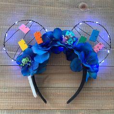 Disney Ears Headband, Diy Disney Ears, Disney Minnie Mouse Ears, Disney Headbands, Disney Diy, Disney Crafts, Cute Disney, Disney Ideas, Disney Stuff