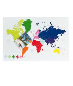 Travel The World Magnetic Board