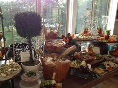 Rustic appetizers display