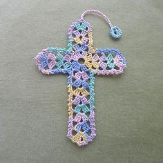 Cross Bookmark pattern by Rainbow Junkie