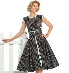 B4790, Misses' Wrap Dress