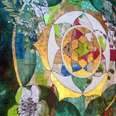 hawthorn mandala — shelley kommers, commissioned artwork