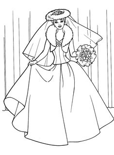 Barbie Coloring Pages, Cute Coloring Pages, Coloring Pages For Girls, Coloring For Kids, Coloring Sheets, Coloring Books, Barbie E Ken, Study Biology, Barbie World