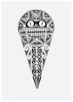 Funny Maori Sun Tattoo Design By Shepush Maori Tattoos, Maori Tattoo Meanings, Samoan Tribal Tattoos, Marquesan Tattoos, Tattoo Designs And Meanings, Leg Tattoos, Borneo Tattoos, Polynesian Tattoo Designs, Maori Designs