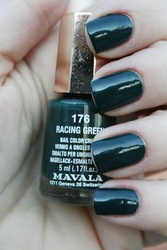 Mavala - Racing green - Love this colour - predicted trend of 2013!