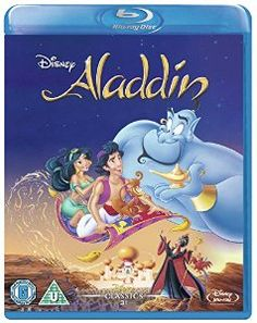 Aladdin [Blu-ray] [1992] [Region Free]: Amazon.co.uk: Scott Weinger, Robin Williams, Linda Larkin, Jonathan Freeman, Gilbert Gottfried, Ron Clements, John Musker: DVD & Blu-ray