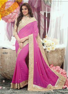 Shaded Purple Sari