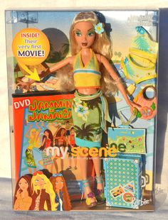 My Scene Barbie Doll Jammin in Jamaica 2003 NRFB Tropical Mattel for sale online Barbie 2000, Barbie I, Barbie World, Barbie Clothes, Childhood Memories 90s, Childhood Toys, Pictures Of Barbie Dolls, Barbie Playsets, Barbie Collector