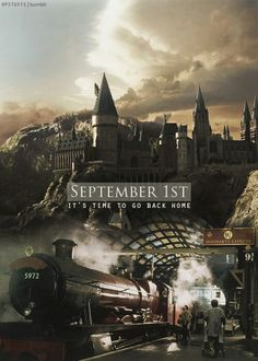 Every September 1st I am going to start Harry Potter. over again. (Even if I am half-way done with #7 I will put it down and pick up #1) and once the horrifying news that J.K Rowling has just died comes. I will go into my cupboard under the stairs and lock myself in. I will have already built Hogwarts underneath my house complete with a kitchen connected to a room on side the cupboard. And I will stay there until I realize I have run out of food. Then I will spend all of the money that I…